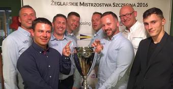 Amica JKKP Team Żeglarskim Mistrzem Szczecina