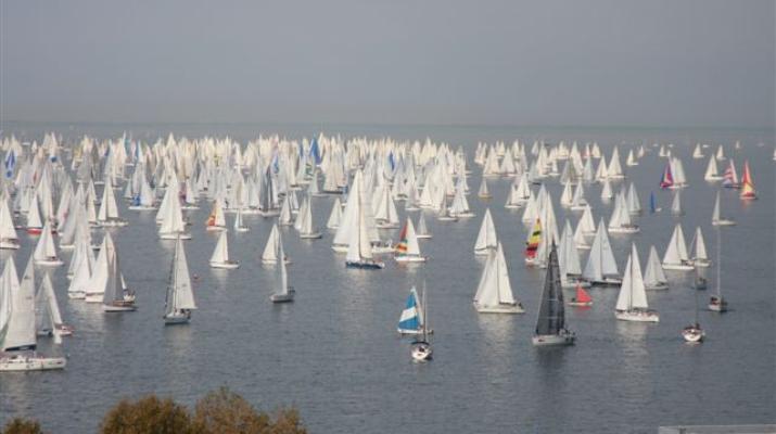 Barcolana 2014 – regaty dla 1903 jachtów! NIESAMOWITE ZDJĘCIA
